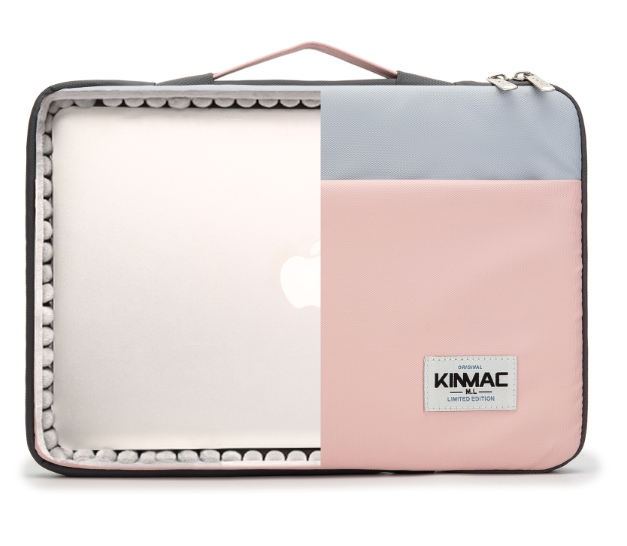 Kinmac Pink and Blue 360° Protective Laptop Sleeve Bag Case