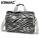 Kinmac Zebra 360° Protective Laptop Sleeve Bag Case with Handle and Detachable Shoulder