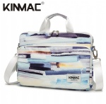 Kinmac Color Stripe 360° Protective Laptop Sleeve Bag Case with Handle and Detachable Shoulder
