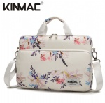 Kinmac Chinese Flowering Crabapple 360° Protective Laptop Sleeve Bag Case with Handle and Detachable Shoulder