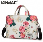 Kinmac Peony 360° Protective Laptop Hand Bag Case with Handle and Detachable Shoulder
