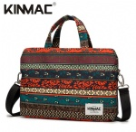 Kinmac New Bohemian 360° Protective Laptop Hand Bag Case with Handle and Detachable Shoulder