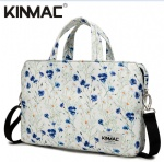Kinmac Lavender 360° Protective Laptop Hand Bag Case with Handle and Detachable Shoulder