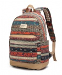 Kinmac New Bohemian Waterproof  Laptop Backpack Travel School Business Bag