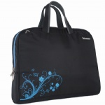 Butterflies Love Flowers  laptop handbag