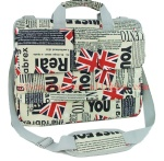 Newspaper laptop handbag