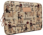 Kinmac Chocolatier Confiseur Lady laptop sleeve