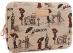 Kinmac London Lady laptop sleeve