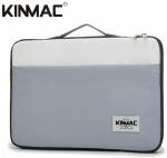 Kinmac Grey and White 360° Protective Laptop Sleeve Bag Case